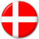 Denmark Country Flag 25mm Pin Button Badge